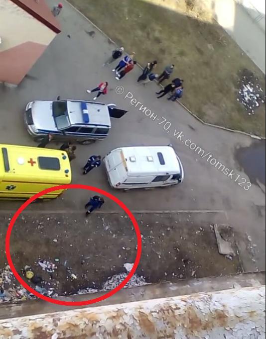 В Томске погиб 3-летний мальчик, выпавший из окна восьмого этажа...