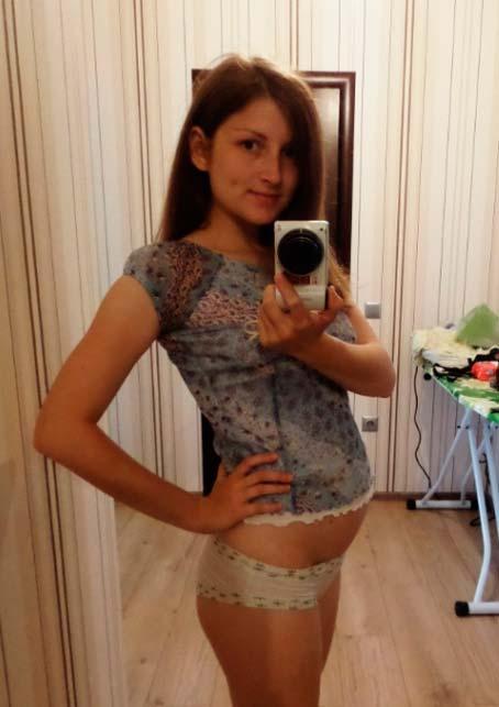Животик на 22 неделе беременности