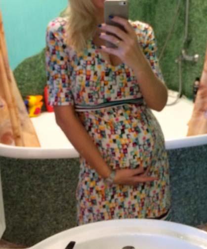 Фото животиков на 24 неделе беременности