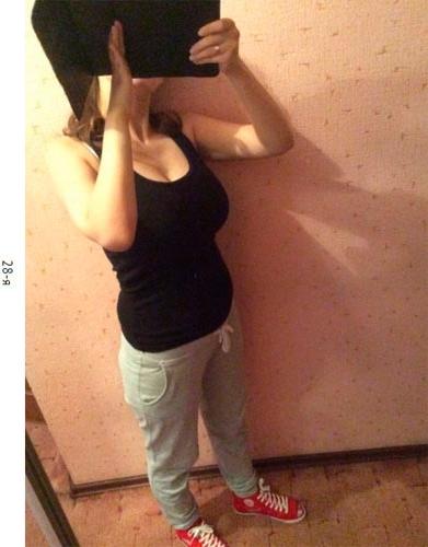 Животики на 28 неделе беременности