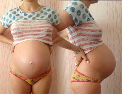 Животики на 32 неделе беременности
