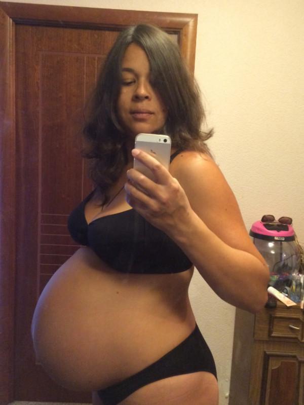 Фото животика на 37 неделе беременности