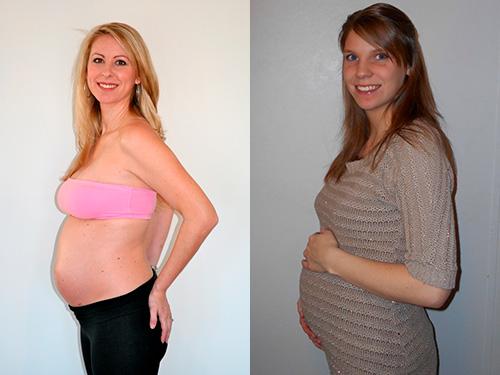 Фото животика на пятом месяце беременности